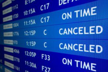 diritti del passeggero volo cancellato
